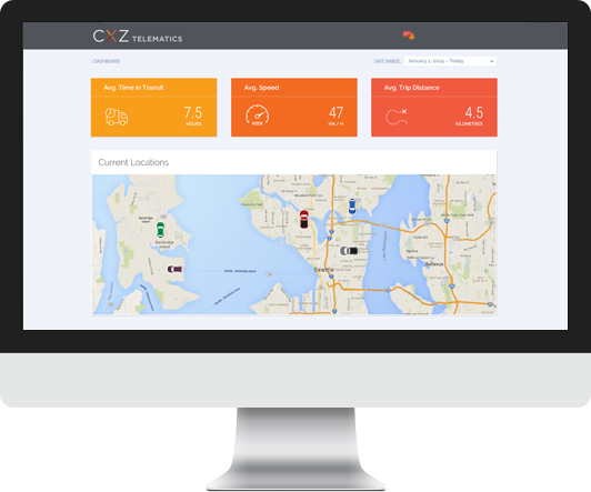 CXZ Telematics Backend Preview